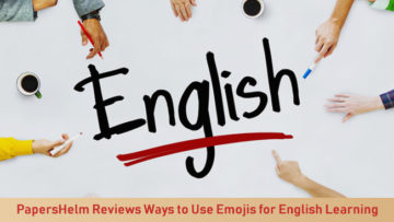 PapersHelm Reviews Ways to Use Emojis for English Learning